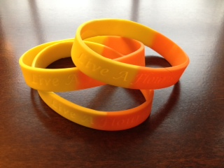Live A Flourishing Life Wristband